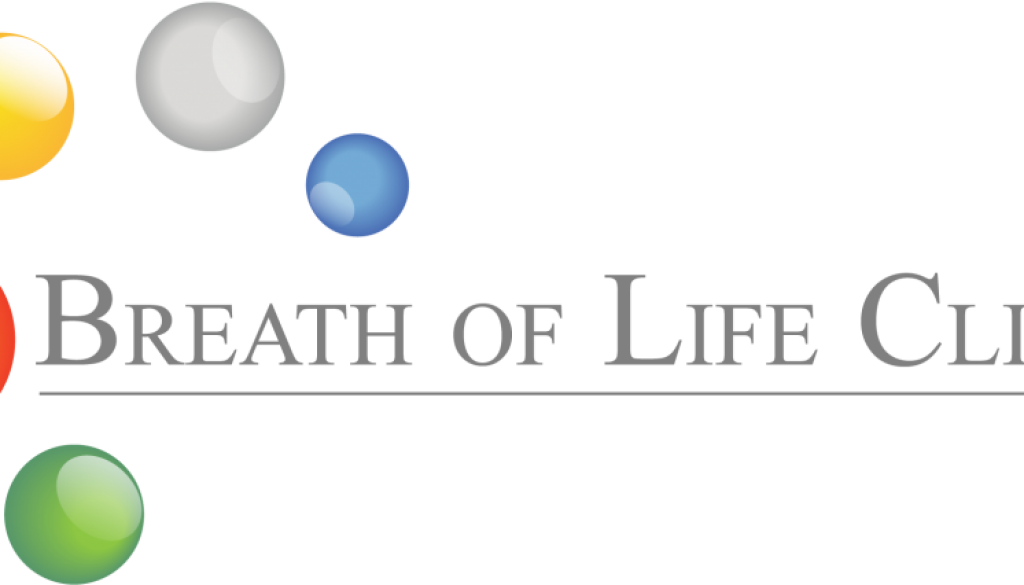 Breath of life logo grey