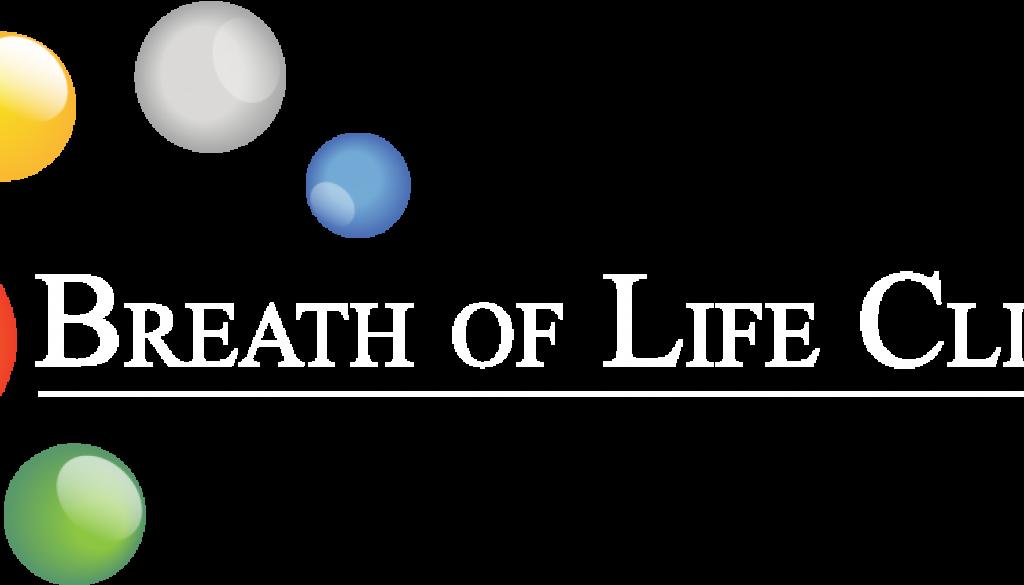 Breath of life logo white